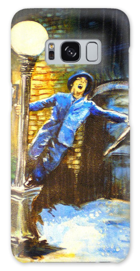 Singin In The Rain Galaxy S8 Case featuring the painting Singin In The Rain by Seth Weaver