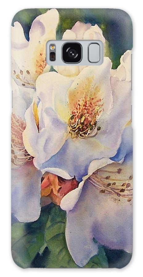Floral Galaxy S8 Case featuring the painting Single Trusse by Michele Thorp