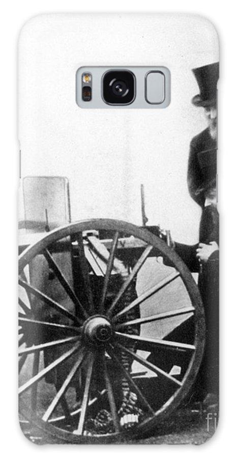 1900 Galaxy S8 Case featuring the photograph Sir Hiram Stevens Maxim by Granger