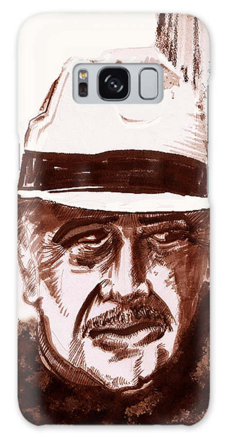 Sir Sean Connery Galaxy S8 Case featuring the painting Sir Sean Connery by Seth Weaver