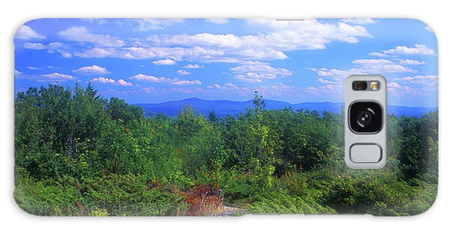 New Hampshire Galaxy S8 Case featuring the photograph Skatutakee Mountain New Hampshire by John Burk
