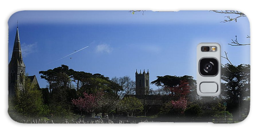 Landscape Galaxy S8 Case featuring the photograph Skerries Church And Grounds by Martina Fagan