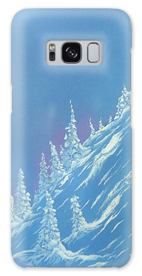 Ski Galaxy Case featuring the painting Ski Heaven by Blaine Filthaut