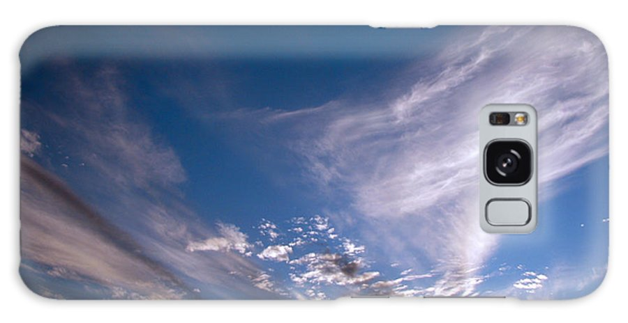 Skies Galaxy Case featuring the photograph Sky by Amanda Barcon