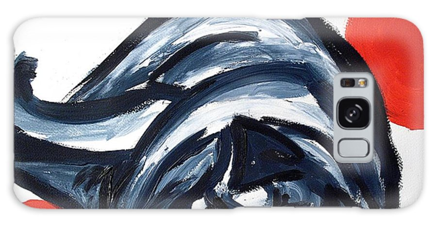 Dog Art Galaxy S8 Case featuring the painting Sleeping Dog by Lidija Ivanek - SiLa