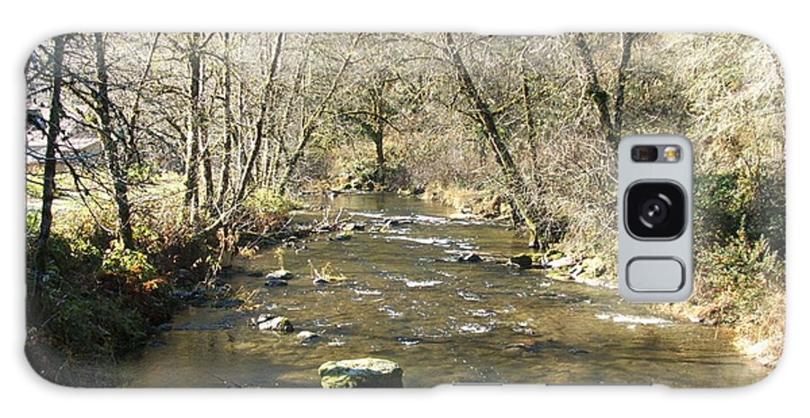 River Galaxy S8 Case featuring the photograph Sleepy Creek by Shari Chavira