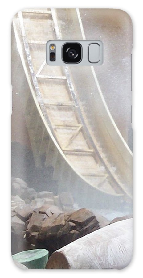 Slide Galaxy S8 Case featuring the photograph Slide Splash by Pharris Art