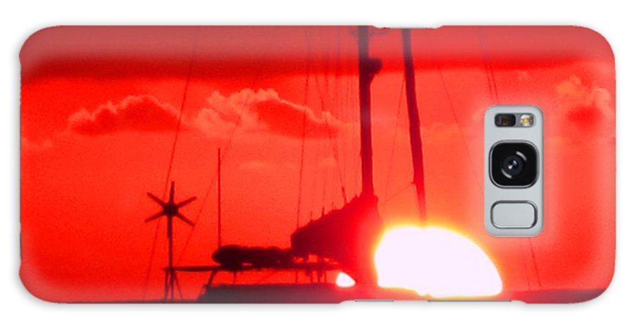 Sunset Galaxy S8 Case featuring the photograph Slipping Over The Edge by Ian MacDonald