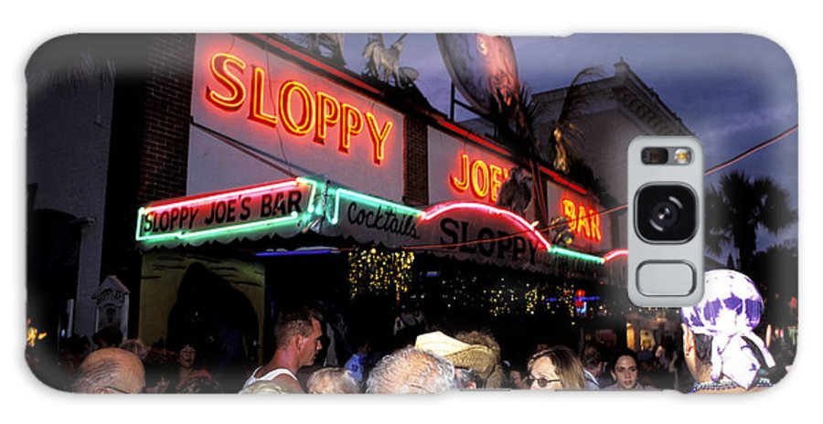 Florida Keys Galaxy S8 Case featuring the photograph Sloppy Joes Bar by Carl Purcell