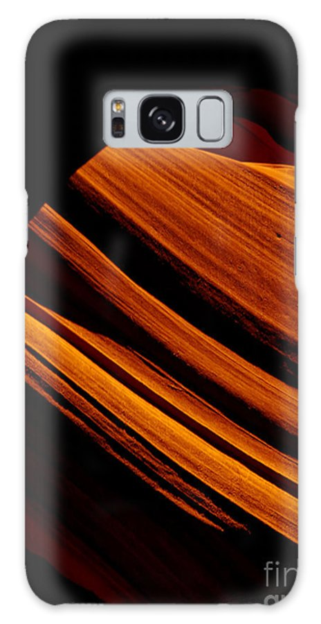 Slot Canyon Galaxy S8 Case featuring the photograph Slot Canyon Striations by Scott Sawyer