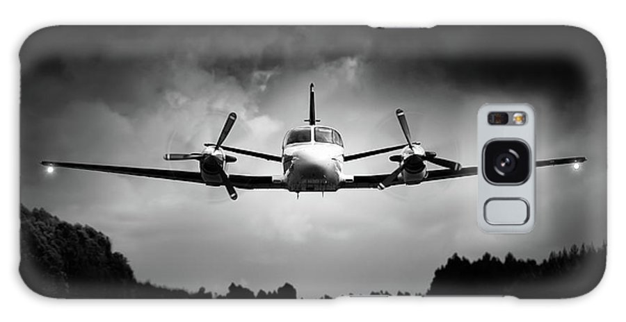 Airplane Galaxy S8 Case featuring the photograph Small Airplane Low Flyby by Johan Swanepoel