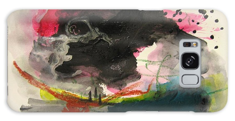 Abstract Paintings Galaxy S8 Case featuring the painting Small Landscape12 by Seon-Jeong Kim