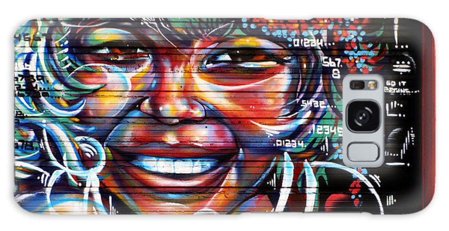 Graffiti Galaxy S8 Case featuring the photograph Smile by Colleen Kammerer