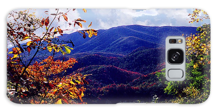 Mountain Galaxy S8 Case featuring the photograph Smoky Mountain Autumn View by Nancy Mueller