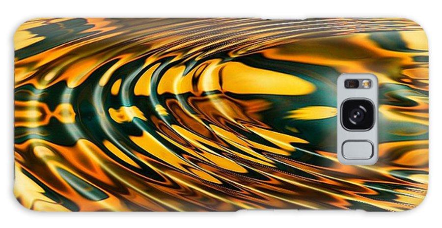 Ripple Galaxy S8 Case featuring the digital art Snake Oil by Robert Orinski
