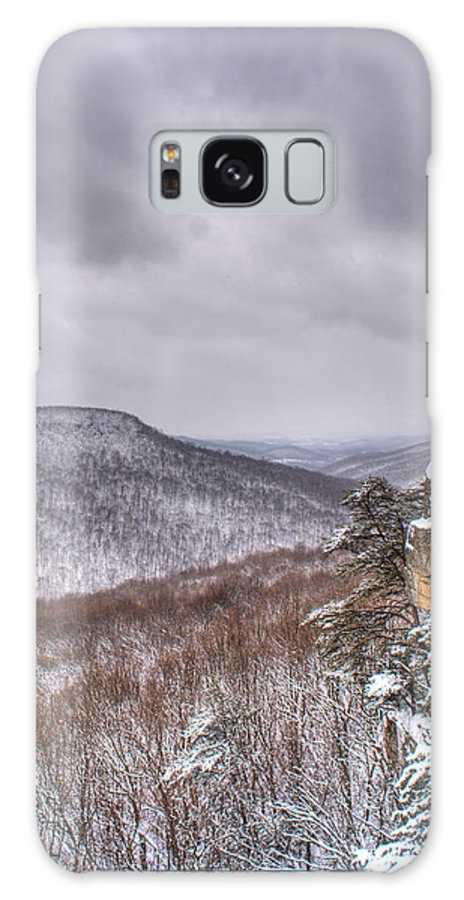 Snow Galaxy S8 Case featuring the photograph Snow Remoteness by Douglas Barnett