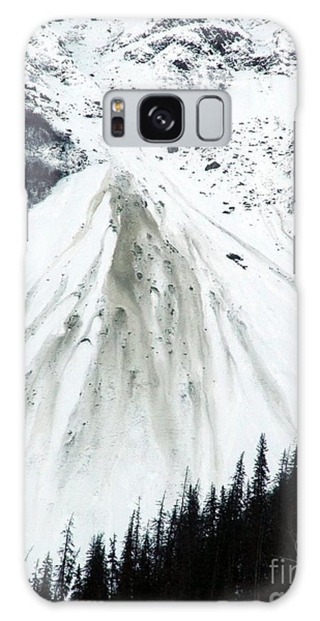 Landscape Galaxy S8 Case featuring the photograph Snow Then Land Slide by Ron Bissett