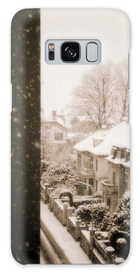Snow Galaxy S8 Case featuring the photograph Snowy Afternoon by Silvia Ganora