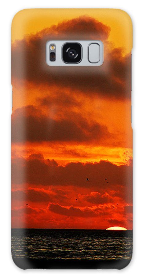 Clay Galaxy Case featuring the photograph Socal Sunset by Clayton Bruster