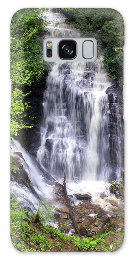 Soco Galls Galaxy S8 Case featuring the photograph Soco Falls 1 by Marty Koch