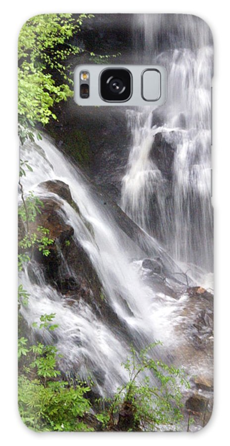 Soco Galls Galaxy S8 Case featuring the photograph Soco Falls 2 by Marty Koch