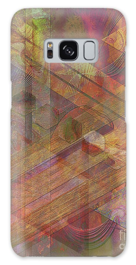 Soft Fantasia Galaxy Case featuring the digital art Soft Fantasia by John Beck