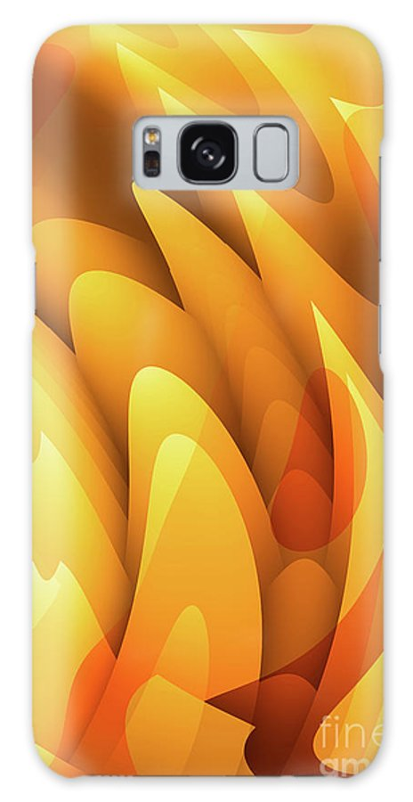 Pool Galaxy S8 Case featuring the digital art Soft Peaks by John Edwards
