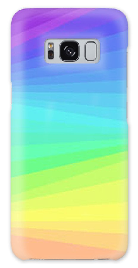 Modern Galaxy S8 Case featuring the digital art Softly Through The Light by ME Kozdron