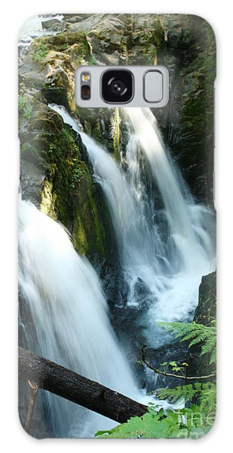 Waterfall Galaxy S8 Case featuring the photograph Sol Duc Falls by Idaho Scenic Images Linda Lantzy