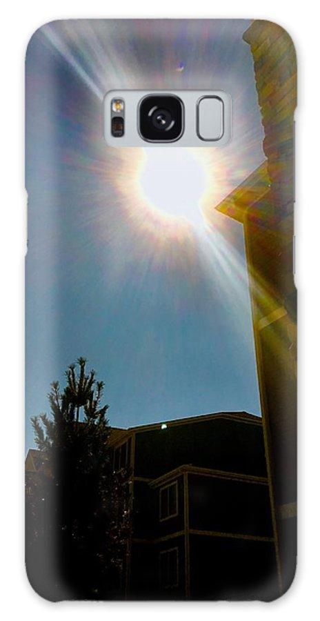 Solar Eclipse Galaxy S8 Case featuring the photograph Solar Eclipse by Aunalea Vasquez