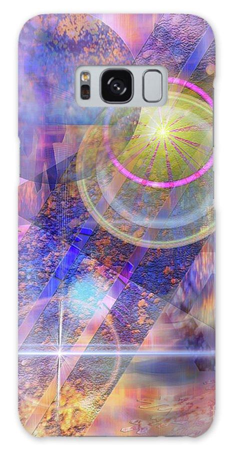 Solar Progression Galaxy S8 Case featuring the digital art Solar Progression by John Beck