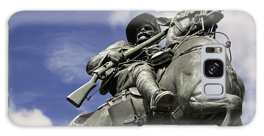 Horse Galaxy S8 Case featuring the photograph Soldier In The Boer War by Stephen Mitchell