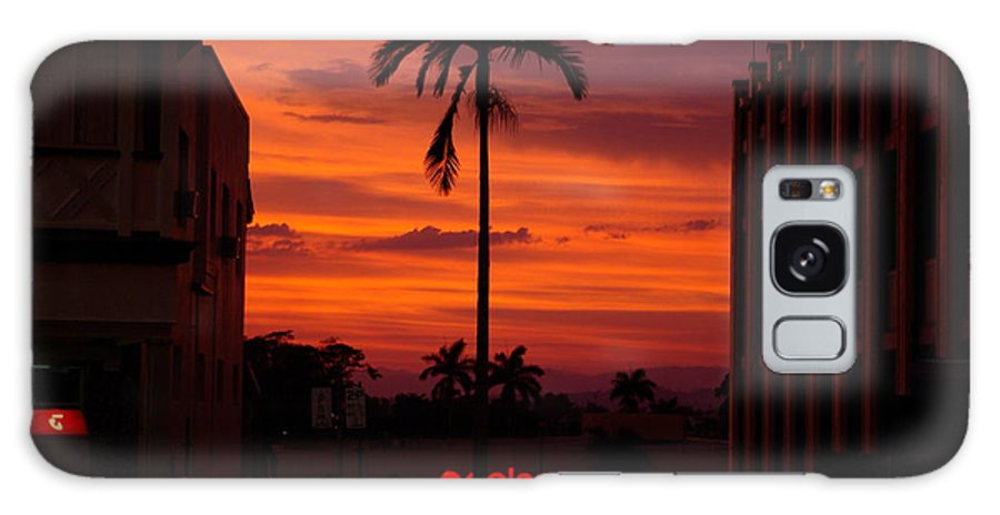 Innisfail Galaxy S8 Case featuring the photograph Solitary Passage by Kerryn Madsen- Pietsch