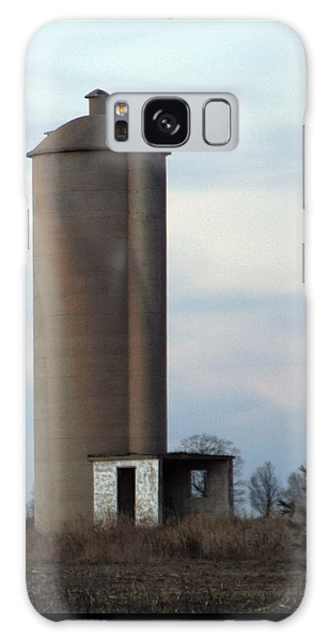 Silo Galaxy S8 Case featuring the photograph Solo Silo by Tim Nyberg
