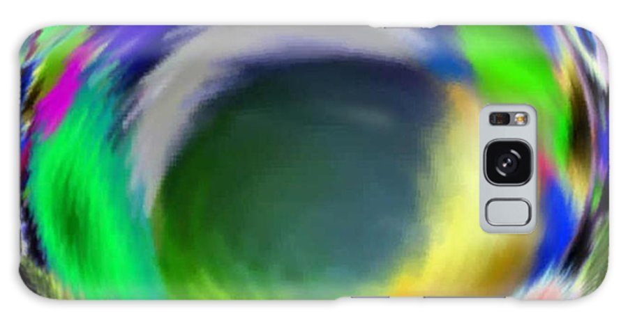 Abstract Art Galaxy S8 Case featuring the digital art Soloist Whirlwind by Brenda L Spencer