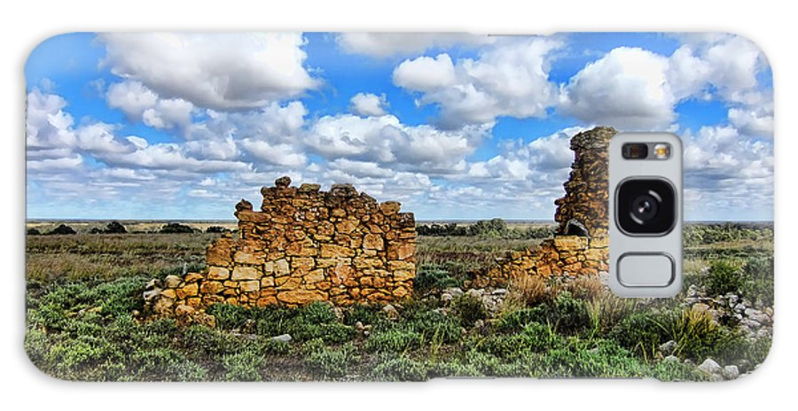 Ruins Galaxy S8 Case featuring the photograph Someone Once Lived There by Douglas Barnard