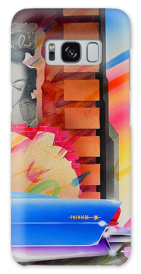 Collage Galaxy S8 Case featuring the painting Someone You Love by Charles Stuart