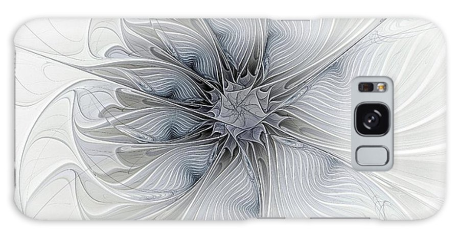 Digital Art Galaxy Case featuring the digital art Something Blue by Amanda Moore
