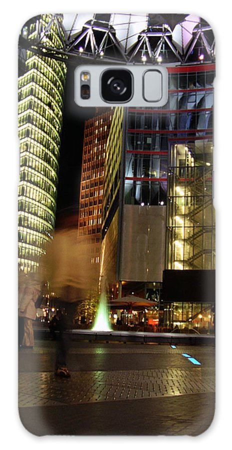 Sony Center Galaxy Case featuring the photograph Sony Center by Flavia Westerwelle