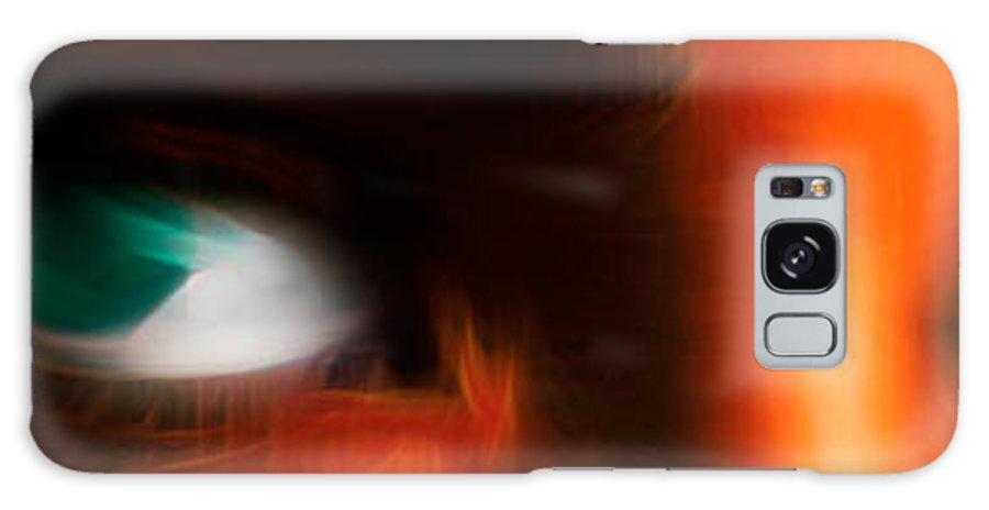 Digital Abstract Art Galaxy S8 Case featuring the digital art Soul Windows I by Kenneth Armand Johnson