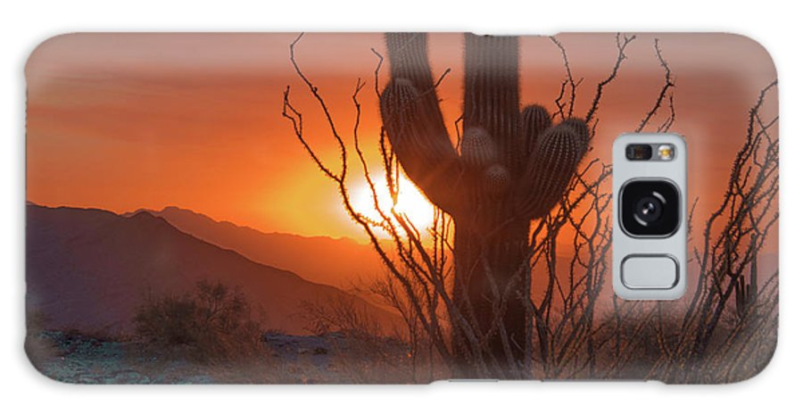 Sun Galaxy S8 Case featuring the photograph South Mountain by Robert Photography