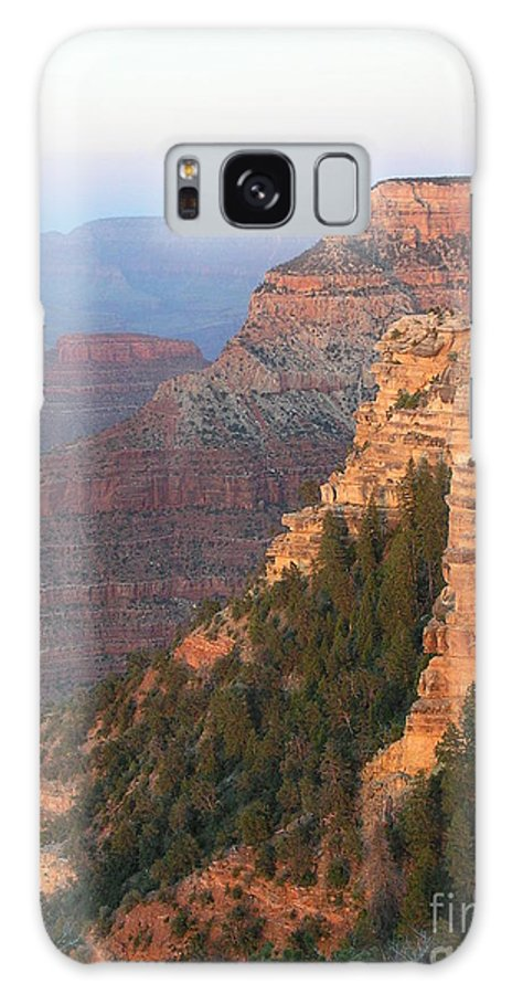 Sunset Galaxy S8 Case featuring the photograph South Rim Sunset by Louise Magno
