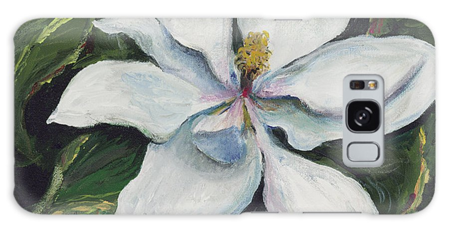 Green Galaxy Case featuring the painting Southern Beauty by Nadine Rippelmeyer