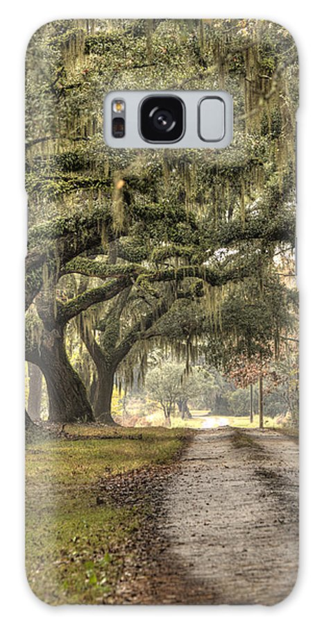 Plantation Galaxy S8 Case featuring the photograph Southern Drive Live Oaks And Spanish Moss by Dustin K Ryan