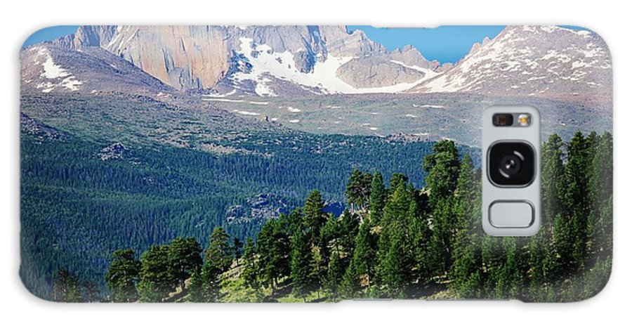 Colorado Galaxy S8 Case featuring the photograph Southern Rockies Summer Mountains by David Broome