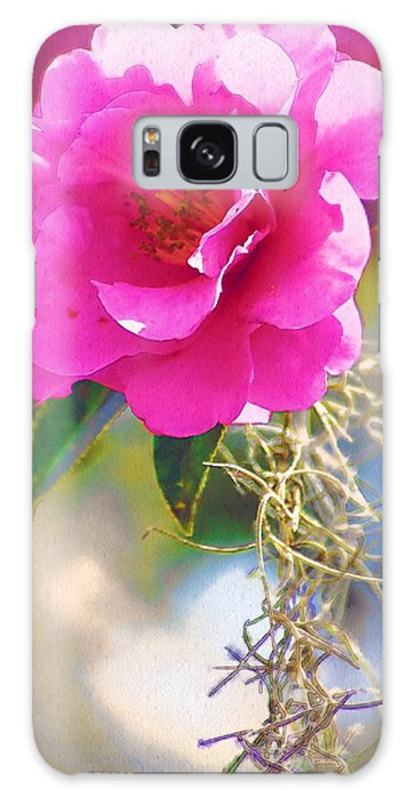 Rose Galaxy Case featuring the digital art Southern Rose by Donna Bentley