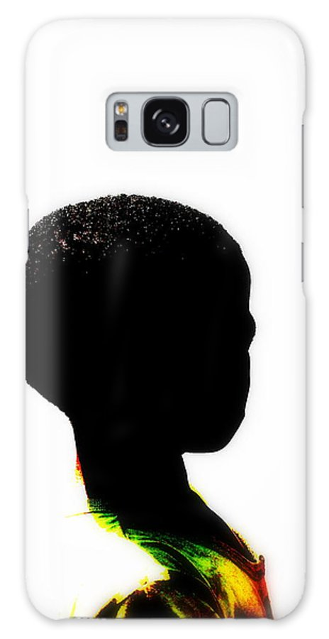 Kid Galaxy Case featuring the photograph Soweto Kid by Funkpix Photo Hunter