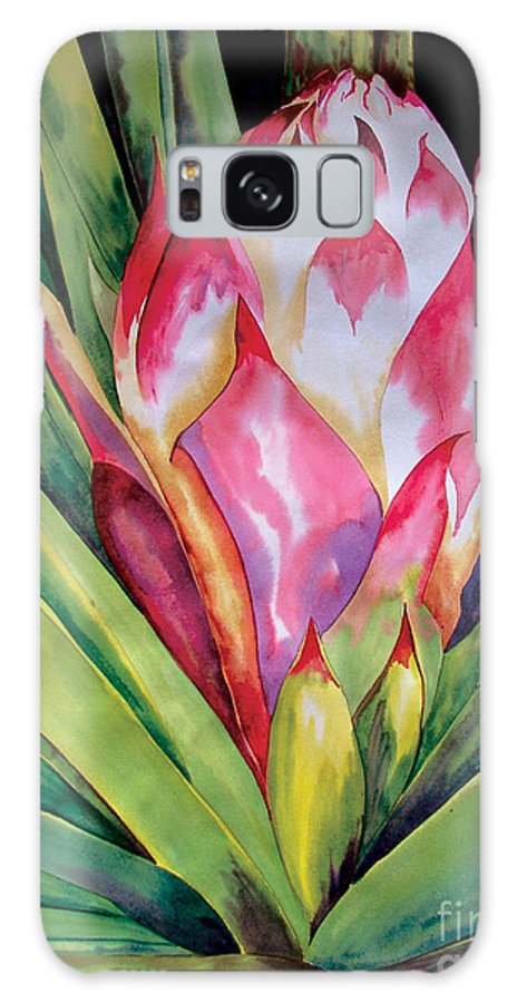 Floral Painting Galaxy Case featuring the painting Spanish Dagger Iv by Kandyce Waltensperger