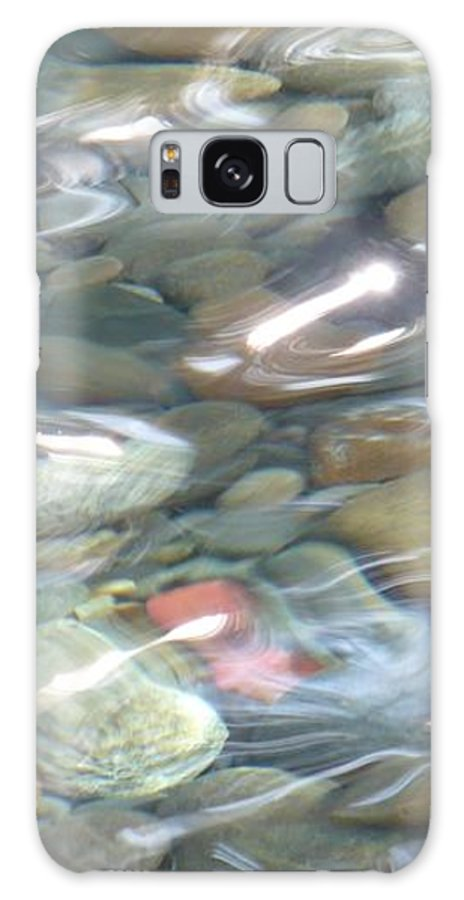 Sparkling Water Galaxy S8 Case featuring the photograph Sparkling Water On Rocky Creek 2 by Carol Groenen