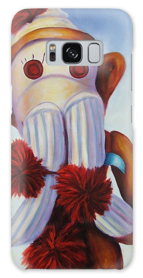 Children Galaxy Case featuring the painting Speak No Bad Stuff by Shannon Grissom